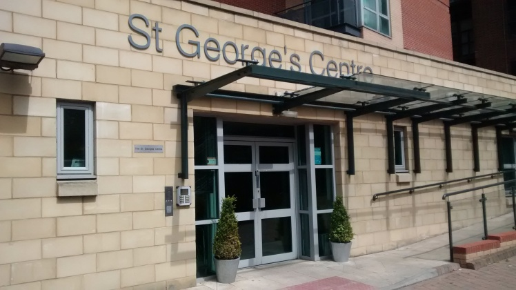 St George's Centre entrance